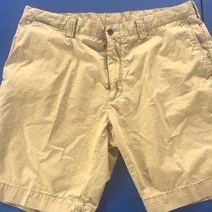 Men's Polo by Ralph Lauren khaki shorts size 38